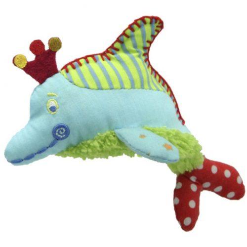 vingerpoppetje dolfijn Flo