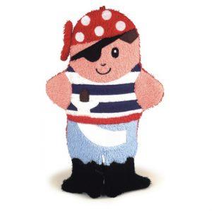 washandje piraat