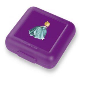 paarse lunchtrommel, broodtrommel