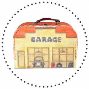 Auto - weg - garage