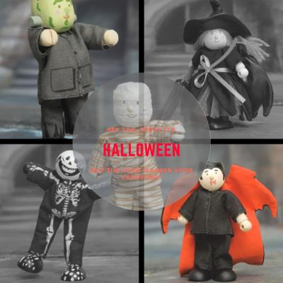 halloween poppenhuispopjes