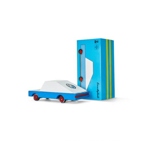 Candy car blue racer 8