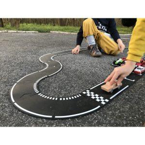 Eerste bocht Racebaan waytoplay