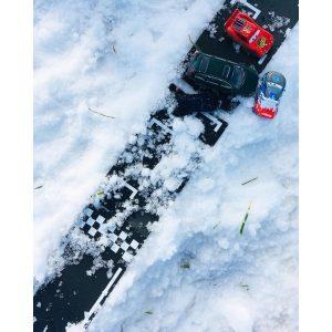 Grand Prix set waytoplay in de sneeuw