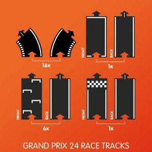 Waytoplay grandprix set 24 racebaan delen