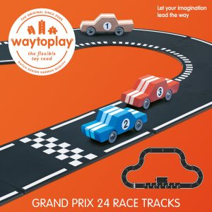 waytoplay grand prix set 24 delige wegenset