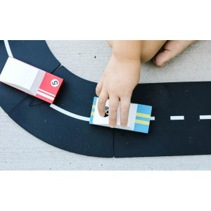 Waytoplay speedway race blauwe en rode racewagen