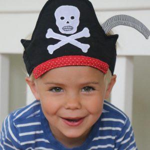 piratenhoed van stof