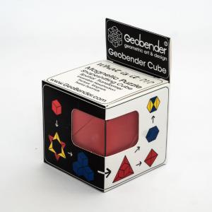 Geobender magnetische kubus om geometrische figuren mee te maken