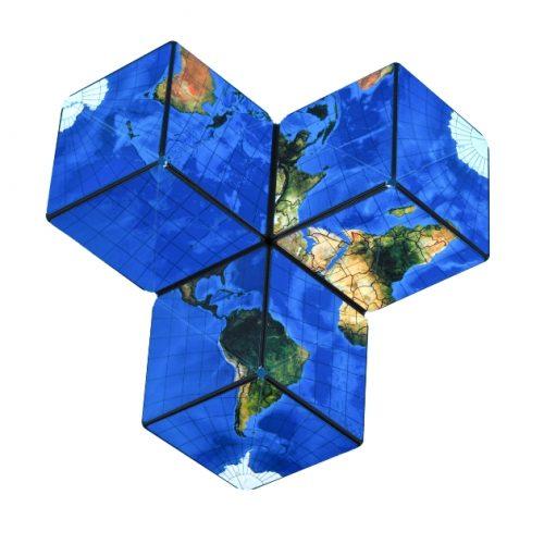 GBC-WORLD-1ER magnetische kubus