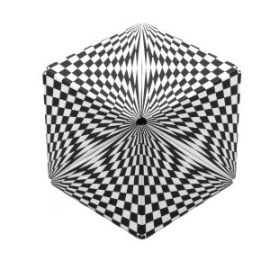 Geobender kubus Abstract 2