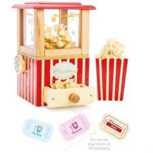 LTV318 inhoud verpakking houten popcorn machine