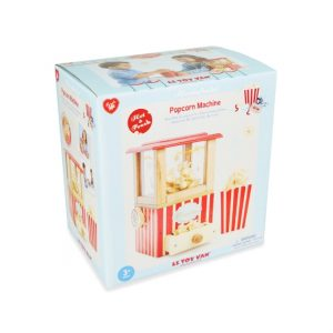 LTV houten popcorn machine verpakking