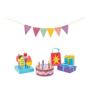 ME081 accessoires voor een poppenhuis feestje