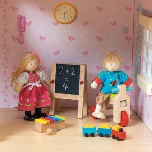 speelgoed voor poppenhuis poppetjes sfeerfoto