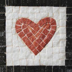 Mozaiek hart DIY kit neptune mosaic