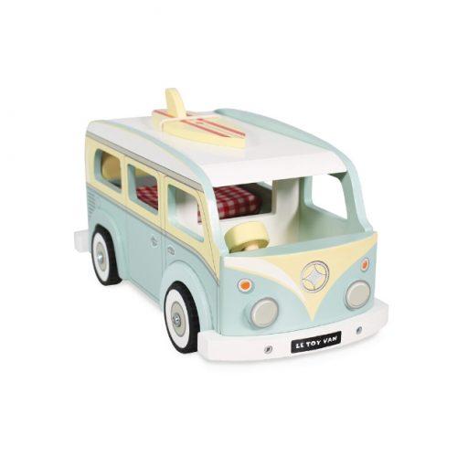 TV478 houten camper bus
