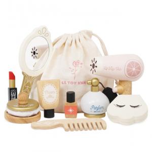 TV293 Star beauty bag make up tas voor kleine dametjes van hout